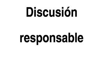 bulletin board: discusión responsable