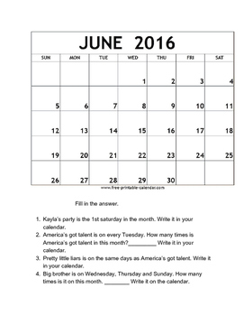 calendar skills