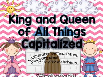 capitalization- fairytale