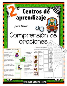 """centros de aprendizaje en español """"PARA LLEVAR"""" - Comprens"""