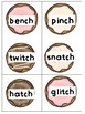 ch or tch? Donut Sorting Activity/Literacy Center Orton-Gi