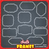 chalkboard clip art frames with transparent backgrounds