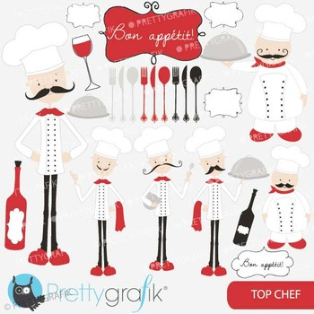 chef kitchen clipart commercial use, vector graphics, digi