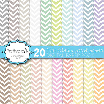 chevron digital paper, commercial use, scrapbook papers, b
