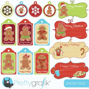 christmas tags label frames clipart commercial use, vector