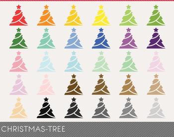 christmas-tree Digital Clipart, christmas-tree Graphics, c