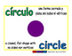 circle/circulo geom 1-way blue/verde