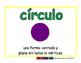 circle/circulo geom 2-way blue/verde