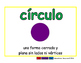 circle/circulo geom 2-way blue/verde