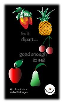 Clipart:fruit
