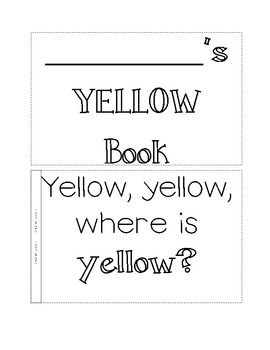color book, yellow