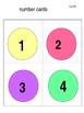 colour spot number cards