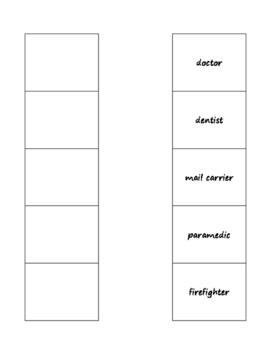 community professions template