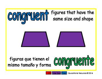 congruent/congruente geom 1-way blue/verde