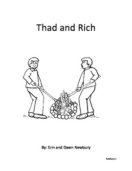 consonant diagraphs - Thad and Rich