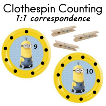 Numeracy   counting and 1:1 correspondence math center