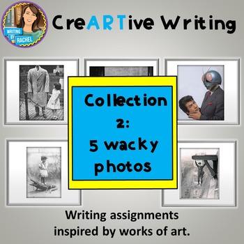 Creative Writing with Wacky Photo Prompts