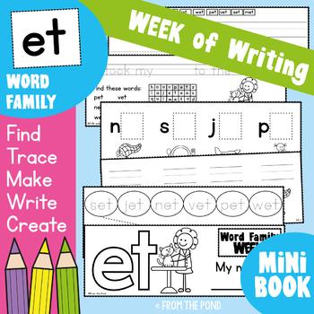 cvc Word Families { et } Week of Writing