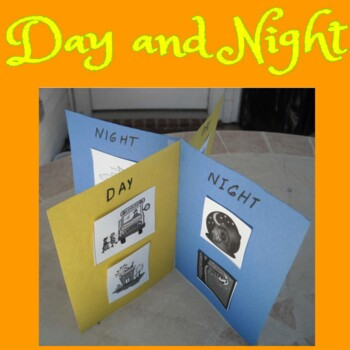 Day and Night Venn Diagram and Mobile