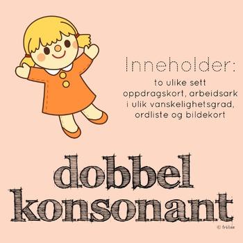 dobbel konsonant (bokmål)