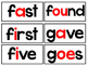 dolch sight words: word wall words - Grade 2