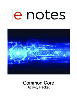 eNotes Common Core Activity Packet