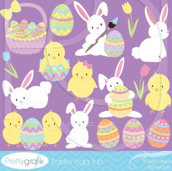 easter bunny clipart commercial use, vector graphics, digi