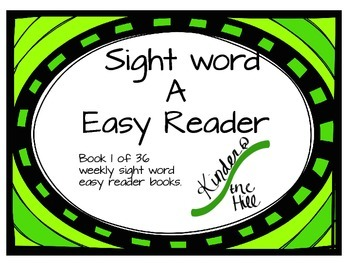 easy reader A book