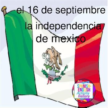 el 16 de septiembre - la independencia de Mexico