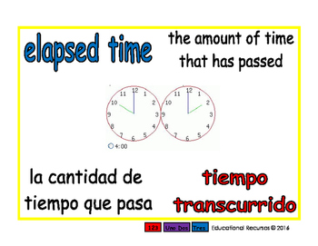 elapsed time/tiempo transcurrido meas 1-way blue/rojo