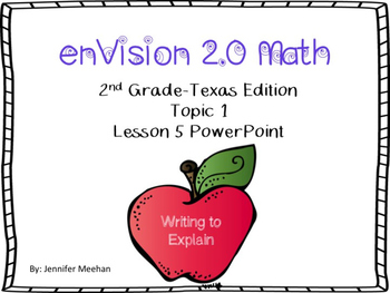 enVision 2.0 Lesson 1-5 PowerPoint