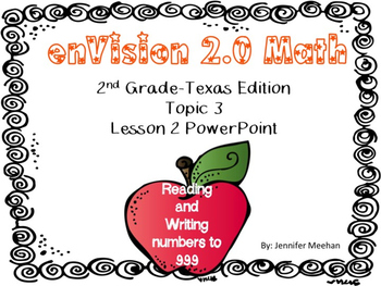enVision 2.0 Lesson 3-2 PowerPoint