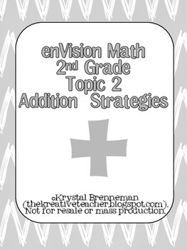 enVision 2nd Grade Topic 2