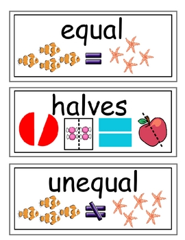 enVision Grade 2 Topics 12 Vocabulary Word Wall Cards