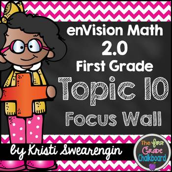 enVision Math 2.0 Focus Wall Topic 10 (First Grade)
