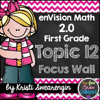 enVision Math 2.0 Focus Wall Topic 12 (First Grade)