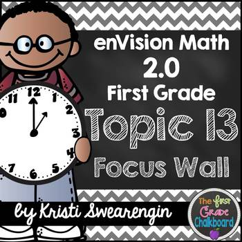 enVision Math 2.0 Focus Wall Topic 13 (First Grade)