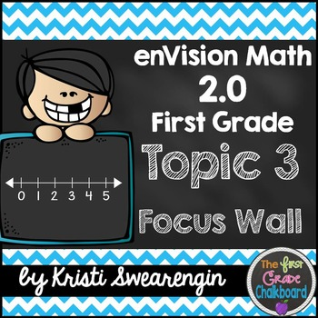 enVision Math 2.0 Focus Wall Topic 3 (First Grade)