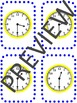 enVision Math 2.0  Topic 13 ~Telling Time~ Grade 1  Task Cards