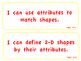 """enVision Math 2.0  Topic 14   Grade 1  """"I can"""" statements"""
