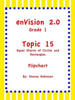 enVision Math 2.0  Topic 15   Grade 1  Flipchart