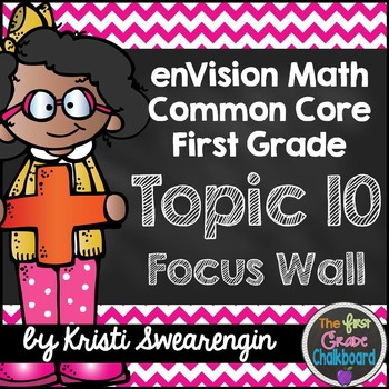 enVision Math First Grade Common Core Focus Wall Topic 10