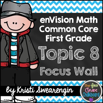 enVision Math First Grade Common Core Focus Wall Topic 8