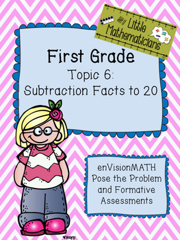 enVision Math Tasks and Formative Assessments First Grade Topic 6