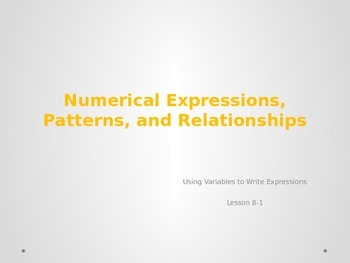 enVision Math Topic 8 Lesson 1 PowerPoint