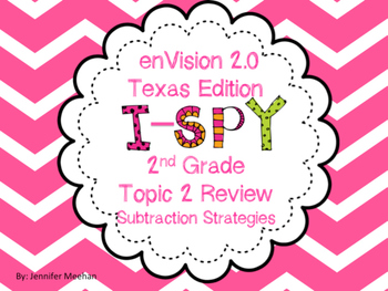 enVision Topic 2 I-SPy Review