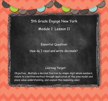 Engage New York (Eureka) Grade 5-Module 1 Topic E SMART Notebook