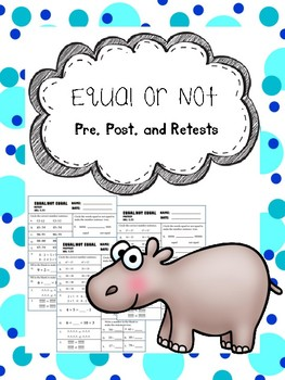 equal or not equal pretest, posttest, and retest