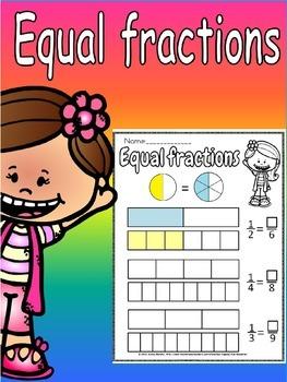 equivalent fractions worksheet(free)