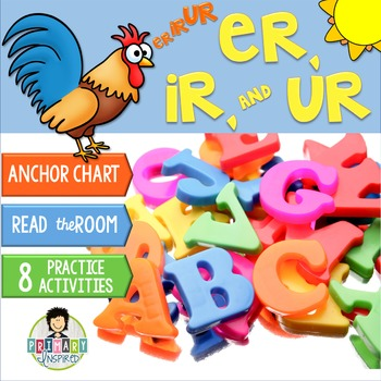 er, ir, ur ~Phonics~ Activity Pack